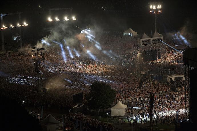 El festival trae a iconos de la música.