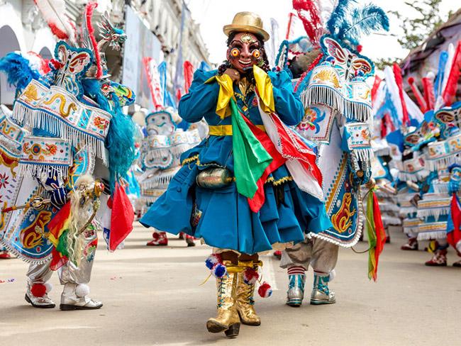 Carnavales latinoamericanos_Oruro, Bolivia