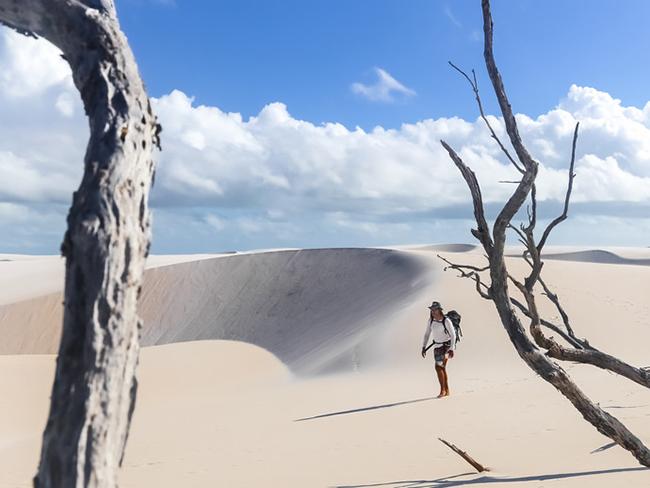 Un destino de viaje en Sudamérica son los Lencois Maranhenses